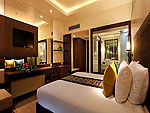 プーケット パトンビーチのホテル : パトン メルリン ホテル(Patong Merlin Hotel)のデラックス(シングル)ルームの設備 Bedroom