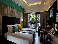 プーケット パトンビーチのホテル : パトン メルリン ホテル(1)のお部屋「デラックス(ツイン)」