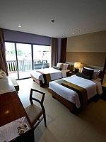 プーケット パトンビーチのホテル : パトン メルリン ホテル(Patong Merlin Hotel)のデラックスプールアクセス(シングル)ルームの設備 Room View