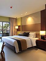 プーケット パトンビーチのホテル : パトン メルリン ホテル(Patong Merlin Hotel)のデラックスプールアクセス(シングル)ルームの設備 Balcony