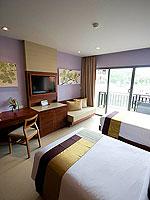 プーケット パトンビーチのホテル : パトン メルリン ホテル(Patong Merlin Hotel)のデラックスプールアクセス(ツイン)ルームの設備 Room View
