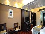 プーケット パトンビーチのホテル : パトン メルリン ホテル(Patong Merlin Hotel)のエグジクティブ スイートルームの設備 Bed Room