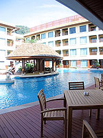 Restaurant : Patong Paragon Resort & Spa, Pool Access Room, Phuket