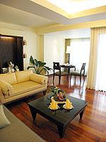 プーケット パトンビーチのホテル : パトン パラゴン リゾート&スパ(Patong Paragon Resort & Spa)のジュニア スイートルームの設備 Living Area