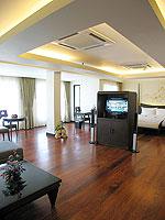 プーケット パトンビーチのホテル : パトン パラゴン リゾート&スパ(Patong Paragon Resort & Spa)のプレジデンシャル スイートルームの設備 Room View