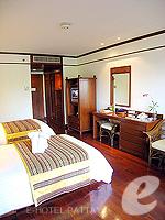 パタヤ サウスパタヤのホテル : アヴァニ パタヤ リゾート&スパ(AVANI Pattaya Resort & Spa)のデラックス ルームルームの設備 Bedroom