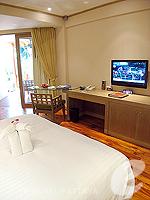 パタヤ サウスパタヤのホテル : アヴァニ パタヤ リゾート&スパ(AVANI Pattaya Resort & Spa)のテラス スイートルームの設備 Bedroom