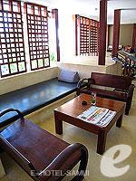 サムイ島 ラマイビーチのホテル : パビリオン サムイ ヴィラズ & リゾート 「Lobby」