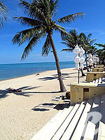 Beach : Pavilion Samui Villas & Resort, Lamai Beach, Phuket