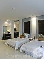 クラビ カップル&ハネムーンのホテル : ピース ラグーナ リゾート(Peace Laguna Resort & Spa)のスーペリアルームの設備 Bedroom