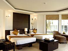 クラビ カップル&ハネムーンのホテル : ピース ラグーナ リゾート(1)のお部屋「スーペリア コテージ」