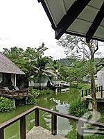 クラビ カップル&ハネムーンのホテル : ピース ラグーナ リゾート(Peace Laguna Resort & Spa)のデラックス コテージルームの設備 Balcony