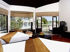 クラビ カップル&ハネムーンのホテル : ピース ラグーナ リゾート(1)のお部屋「デラックス コテージ」