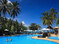 Swimming Pool : Peace Resort, Bophut Beach, Phuket