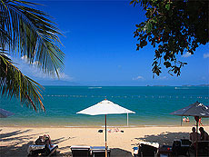 Beach : Peace Resort, Bophut Beach, Phuket