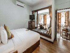 サムイ島 ボプットビーチのホテル : ピース リゾート(1)のお部屋「デラックス テラス ルーム」