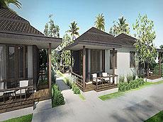 サムイ島 ボプットビーチのホテル : ピース リゾート(Peace Resort)のプレミアム バンガロールームの設備 Exterior