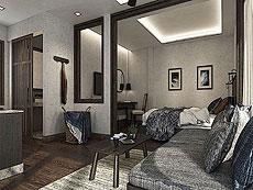 サムイ島 ボプットビーチのホテル : ピース リゾート(1)のお部屋「プレミアム バンガロー」
