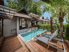 サムイ島 ボプットビーチのホテル : ピース リゾート(Peace Resort)の2ベッドルーム シーブリーズ プール ヴィラルームの設備 Private Pool