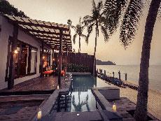 サムイ島 ボプットビーチのホテル : ピース リゾート(Peace Resort)のビーチフロント プール ヴィラルームの設備 Private Pool