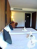プーケット カタビーチのホテル : ピーチ ブロッサム リゾート(Peach Blossom Resort)のグランド デラックスルームの設備 Bedroom