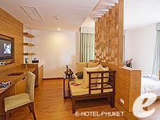 プーケット カタビーチのホテル : ピーチ ブロッサム リゾート(1)のお部屋「グランド スイート」