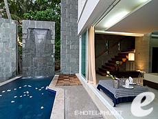 プーケット カタビーチのホテル : ピーチ ブロッサム リゾート(1)のお部屋「プール ヴィラ 2ベッドルーム」