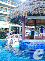 Poolside Bar : Peach Hill Hotel & Resort, Kata Beach, Phuket