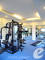 Fitness Gym : Peach Hill Hotel & Resort, Kata Beach, Phuket