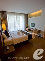 プーケット プールヴィラのホテル : ピーチヒル ホテル&リゾート(Peach Hill Hotel & Resort)のスーペリアルームの設備 Bedroom