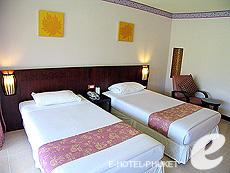 プーケット プールヴィラのホテル : ピーチヒル ホテル&リゾート(1)のお部屋「デラックス」
