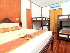 クラビ サービスヴィラのホテル : ピピ ナチュラル リゾート(1)のお部屋「ムルトベッド バンガロー」