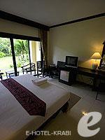 クラビ ピピ島のホテル : ピピ ビラ リゾート(Phi Phi Villa Resort)のデラックス ルームルームの設備 Room View