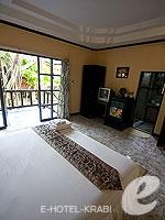 クラビ ピピ島のホテル : ピピ ビラ リゾート(Phi Phi Villa Resort)のデラックス バンガロールームの設備 Room View