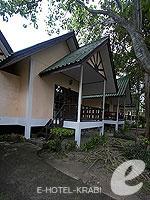 クラビ ピピ島のホテル : ピピ ビラ リゾート(Phi Phi Villa Resort)のデラックス バンガロールームの設備 Exterior