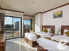 プーケット その他・離島のホテル : プーケット エアポート リゾート & スパ(1)のお部屋「スタンダード ウィズ ブレックファースト」