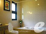 プーケット その他・離島のホテル : プーケット エアポート リゾート & スパ(Phuket Airport Resort & Spa)のスタンダード ヴィラ(ルーム オンリー)ルームの設備 Bath Room