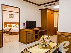 プーケット その他・離島のホテル : プーケット エアポート リゾート & スパ(1)のお部屋「スイート (ウィズ ブレックファースト)」