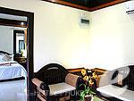 プーケット その他・離島のホテル : プーケット エアポート リゾート & スパ(Phuket Airport Resort & Spa)のファミリー ルーム ルームオンリー(2ベッドルーム)ルームの設備 Living Room