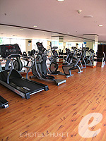Fitness Gym : Phuket Graceland Resort & Spa, 2 Bedrooms, Phuket