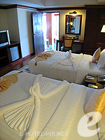 Bedroom : Family Suite (2 Bed Room) at Phuket Graceland Resort & Spa, USD 50-100, Phuket