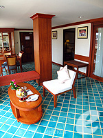 Living Room : Family Suite (2 Bed Room) at Phuket Graceland Resort & Spa, USD 50-100, Phuket