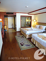 Sub Bedroom : Family Suite (2 Bed Room) at Phuket Graceland Resort & Spa, USD 50-100, Phuket