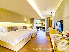 Sunset Deluxe Pool Access : Phuket Graceland Resort & Spa, USD 50-100, Phuket