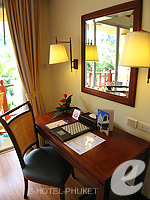 Writing Desk : Deluxe at Phuket Graceland Resort & Spa, USD 50-100, Phuket