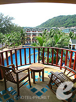 Balcony : Deluxe at Phuket Graceland Resort & Spa, USD 50-100, Phuket