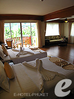 Bedroom : Family Room at Phuket Graceland Resort & Spa, USD 50-100, Phuket