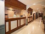 プーケット プーケットタウンのホテル : プーケット メルリン ホテル 「Reception」