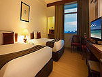 プーケット プーケットタウンのホテル : プーケット メルリン ホテル(Phuket Merlin Hotel)のスーペリア(ツイン)ルームの設備 Bed Room