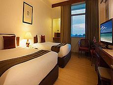 プーケット プーケットタウンのホテル : プーケット メルリン ホテル(1)のお部屋「スーペリア(ツイン)」
